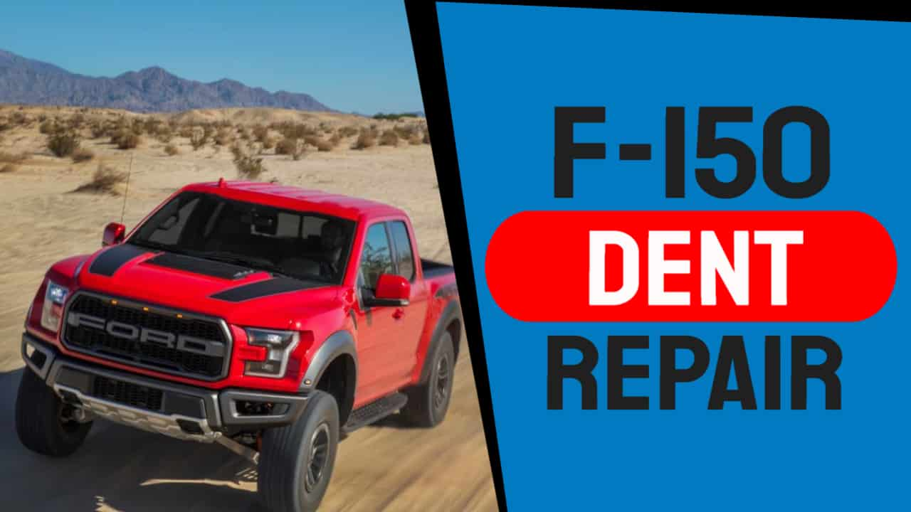 Aluminum Paintless Dent Repair On A Ford F-150