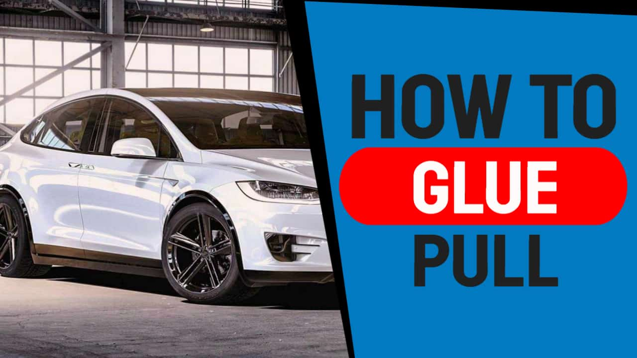 How To Glue Pull Severe Auto Hail Damage