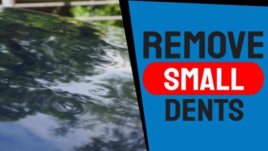 How to Remove Small Auto Dents with Hair Dryer and Compressed Air