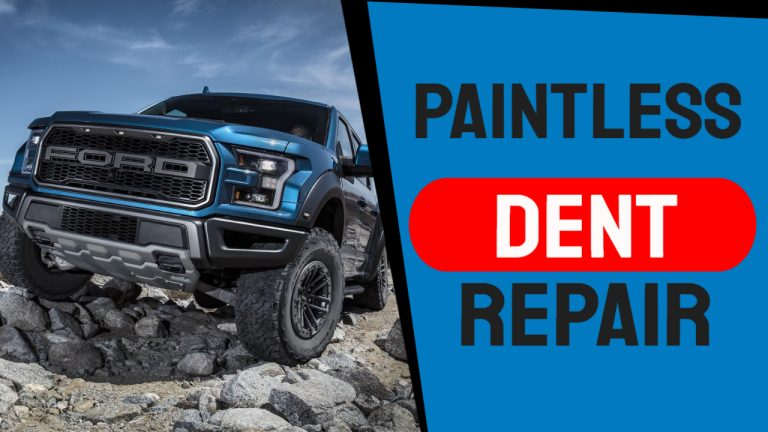 How is Hail Damage Repaired (Paintless Dent Repair Process)