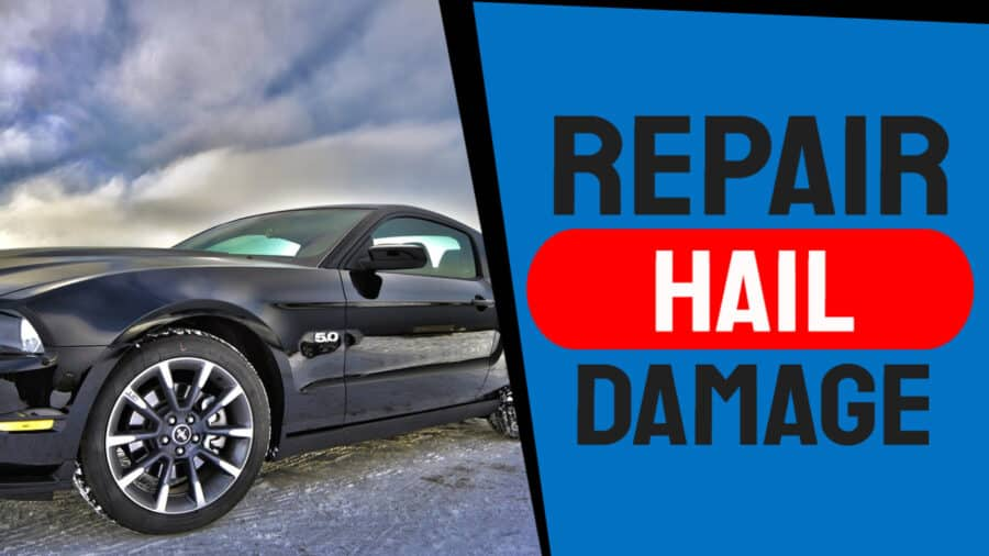 How to Remove Hail Damage Dents