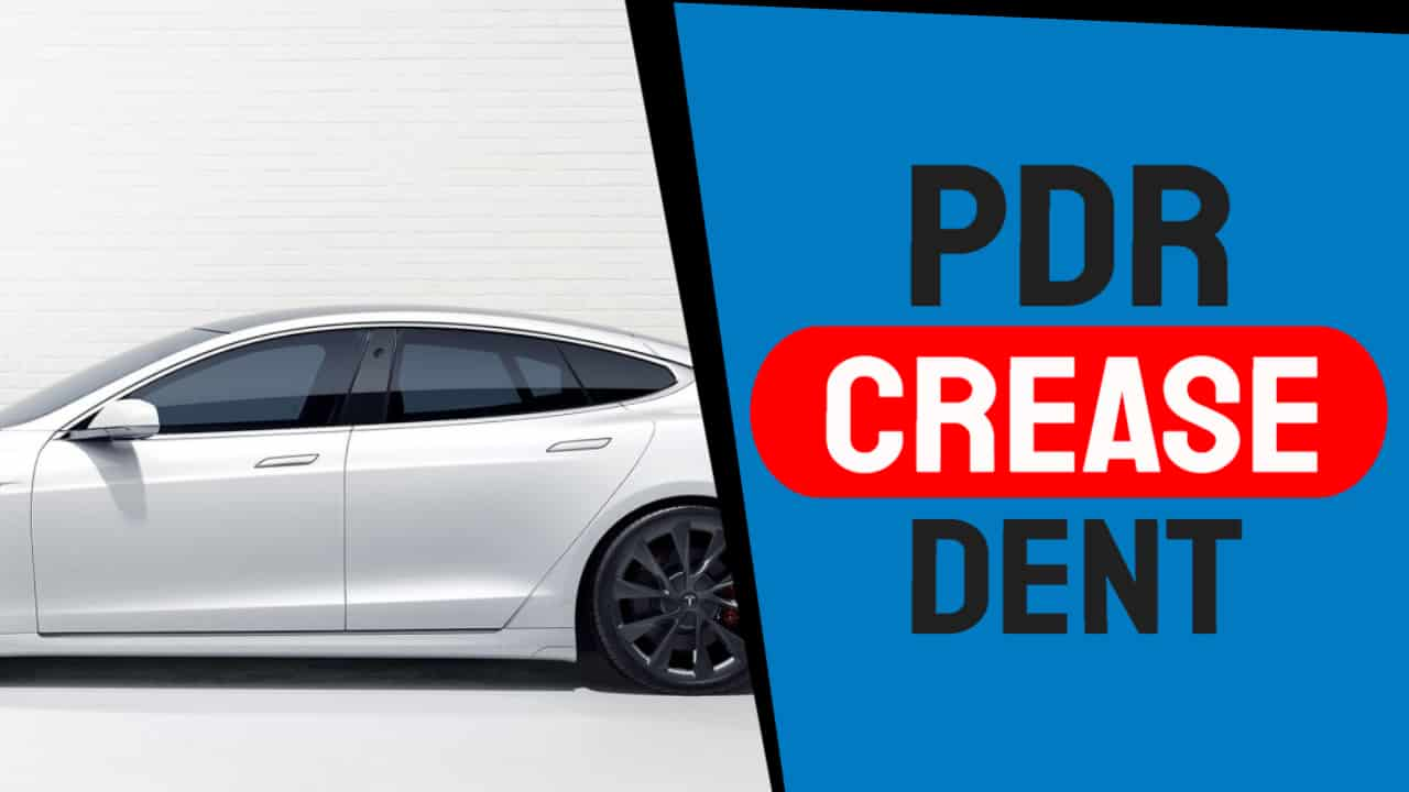 How to Fix Crease Dent in Car