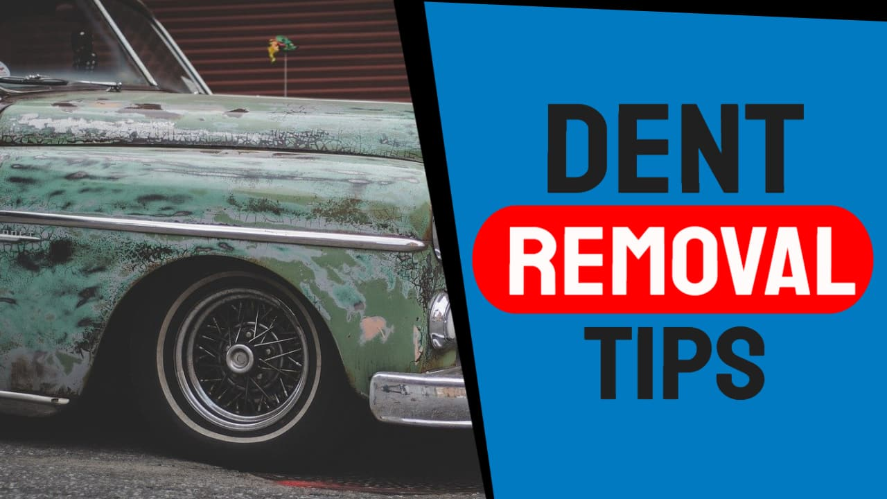Paintless Dent Removal Tutorial